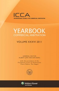 Yearbook Commercial Arbitration Volume XXXV - 2011
