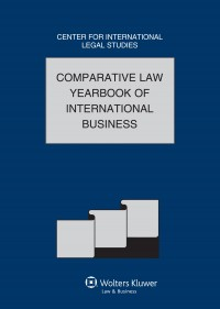 Comparative Law Yearbook International Business 2012 Volume 34