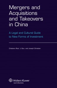 Mergers and Acquisitions and Takeovers in China