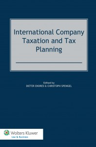 International Company Taxation and Tax Planning