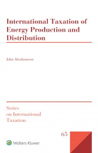 International Taxation of Energy Production and Distribution