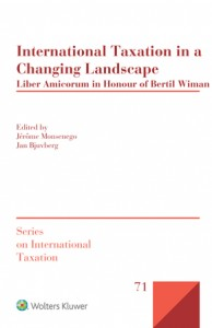 International Taxation in a Changing Landscape