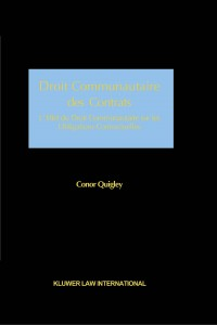 Droit Communautaire des Contrats