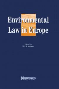 Environmental Law in Europe