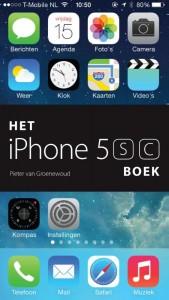 Het iPhone 5s/5c boek