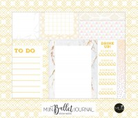 Mijn bullet journal - sticky notes