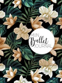 Mijn Bullet Journal Black Flower