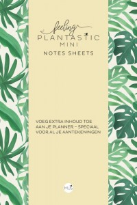 Feeling Plantastic mini Notes Sheets