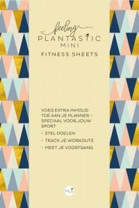 Feeling Plantastic mini Fitness Sheets