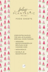 Feeling Plantastic mini Food Sheets