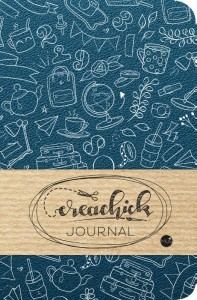 Creachick Journal - Petrolblauw