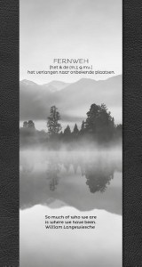 Fernweh Travel Notebook Black