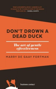 Don't drown a dead duck