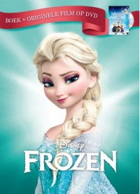 Disney Frozen - Boek + originele film op dvd v