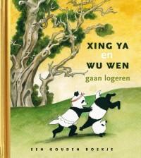 Xing Ya en Wu Wen gaan logeren, luxe gouden boekje, ism. Ouwehands Dierenpark
