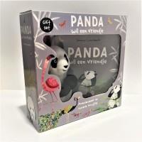 panda wil een vriendje giftset