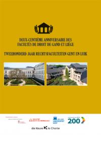 Tweehonderd jaar rechtsfaculteiten Gent en Luik