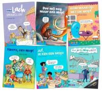 Pakket Moppenboeken groep 4-8 (6 titels)