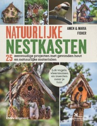 Natuurlijke nestkasten - tuinvogels, bijenhotel