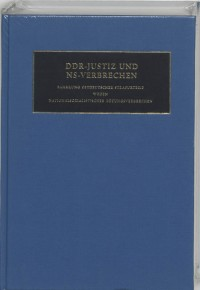 Nazi Crimes on Trial DDR-Justiz und NS-Verbrechen 2