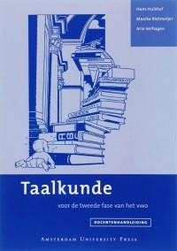 Taalkunde Docentenhandleiding