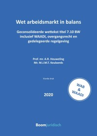 Wet arbeidsmarkt in balans