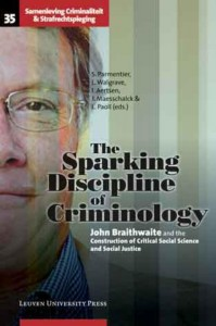 Society, Crime and Criminal Justice The Sparking Discipline of Criminology