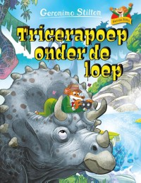 Tricerapoep onder de loep
