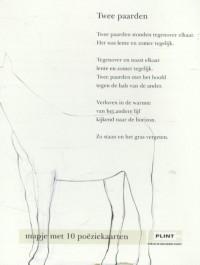 Plint Mapjes Poeziekaarten 'Zo staan en het gras vergeten' 10 verschillende dichters