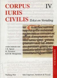 Corpus Iuris Civilis IV Digesten 25-34