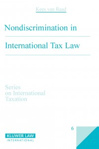 Nondiscrimination in International Tax Law