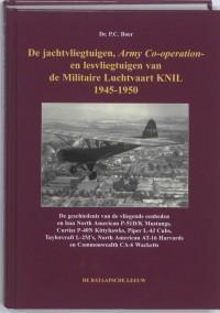 De jachtvliegtuigen, Army Co-operation- en lesvliegtuigen van de Militaire Luchtvaart KNIL 1945-1950