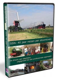 SSN: 40 jaar reizen per stoomtrein!
