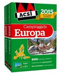 ACSI Campinggids : ACSI campinggids Europa 2015 + DVD