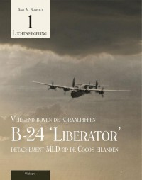 Luchtspiegeling B-24 Liberator detachement MLD op de Cocos eilanden 1