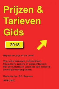Prijzen & Tarievengids 2018