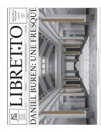 Libretto. daniel buren. une fresque