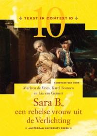 Tekst in Context Sara B., een rebelse vrouw uit de Verlichting