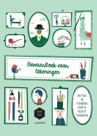 Het bewaarboek voor tekeningen