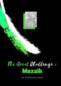 volwassenen kleurboek De Grote Uitdaging : MOZAÏK