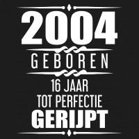 2004 Geboren 16 Jaar Tot Perfectie Gerijpt