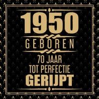 1950 Geboren 70 Jaar Tot Perfectie Gerijpt