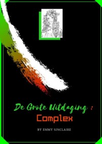 volwassenen kleurboek De Grote Uitdaging : COMPLEX