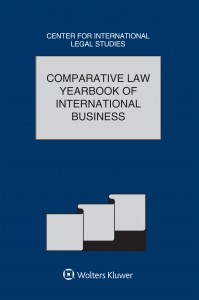 Comparative Law Yearbook of International Business 40