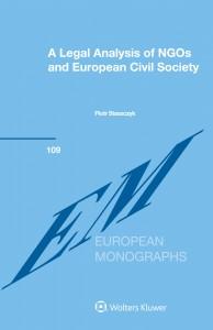 A Legal Analysis of NGOs and European Civil Society