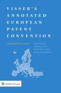 Visser's Annotated European Patent Convention 2019 Edition