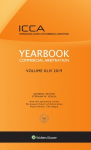 Yearbook Commercial Arbitration, Volume XLIV (2019)