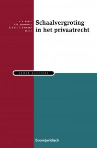 Schaalvergroting in het Privaatrecht