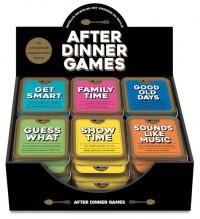 Display - After dinner games