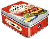 Blik op koken - Hamburgers